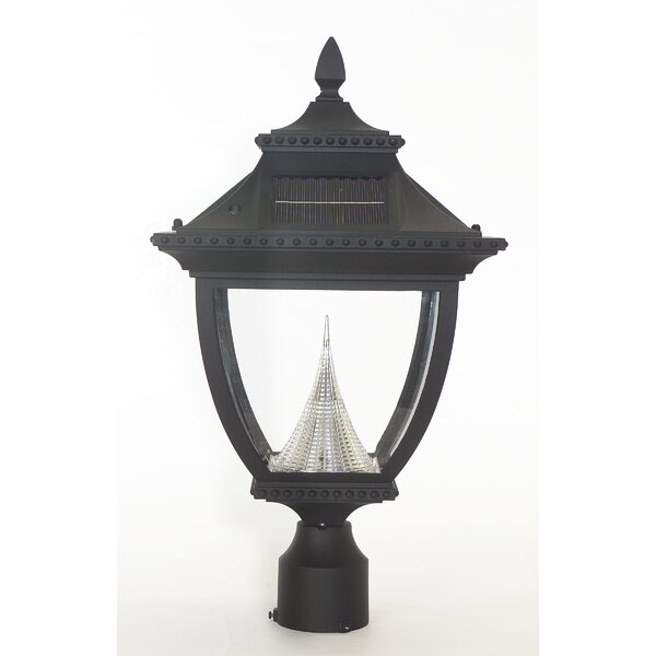 Pagoda Solar 1-Light LED Lantern Head by Gama Sonic
