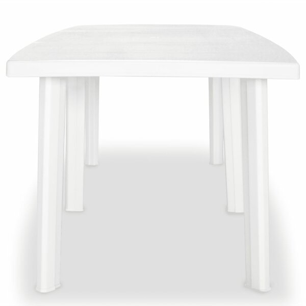 Boyce Plastic Dining Table by Symple Stuff
