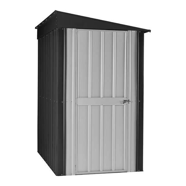 4 ft. W x 6 ft. D Lean To Storage Shed by Globel