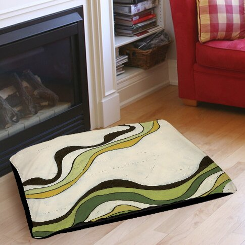 Bandeau 2 Pet Bed by Manual Woodworkers & Weavers