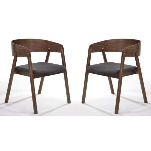 Rosier Upholstered Dining Chair (Set of 2) by Modern Rustic Interiors