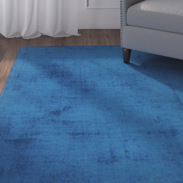 Milford Blue Area Rug by Red Barrel Studio