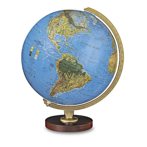 Livingston World Globe by Replogle Globes