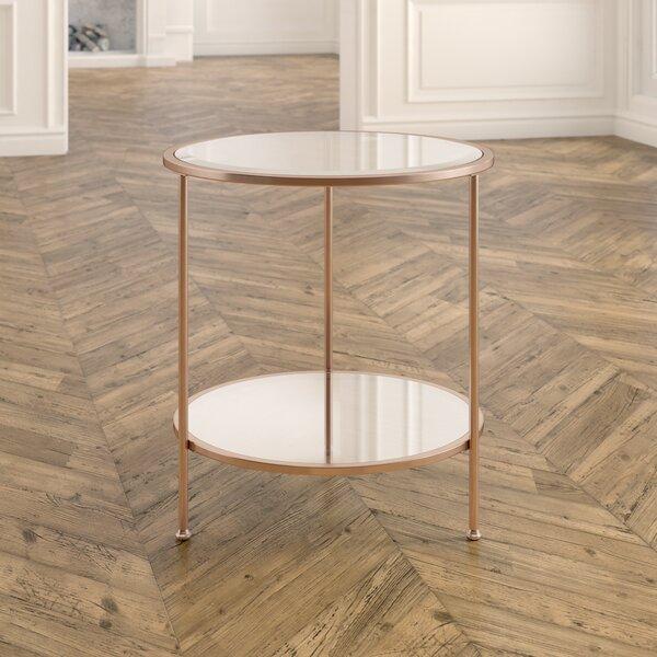 Jamiya End Table by Willa Arlo Interiors