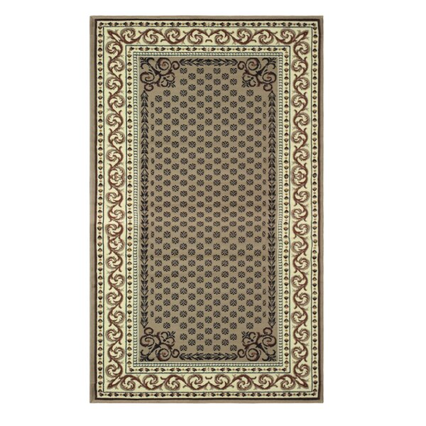 Greig Brown Area Rug by Charlton Home