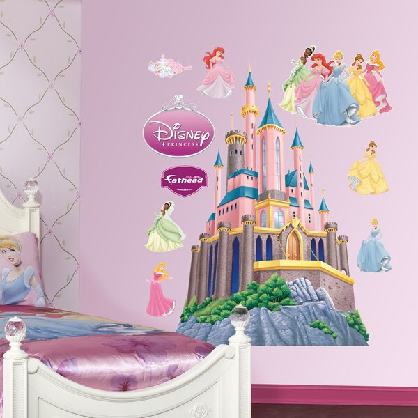 Disney Princess Castle Wall Decal by Fathead