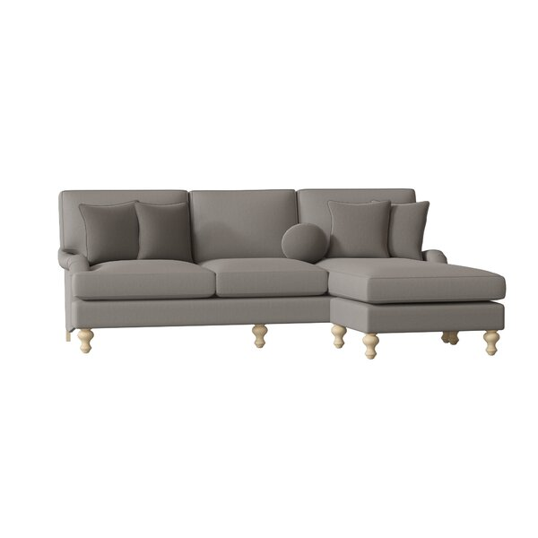 Lillian Sectional with ottoman by Paula Deen Home