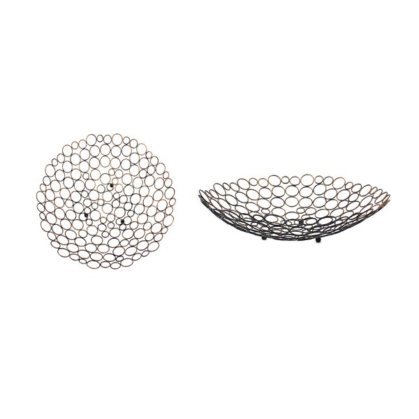 Metal Tray (Set of 2) by Teton Home