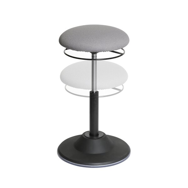 Fantastic Airlift 3600 Sit Stand Height Adjustable Ergonomic Active Stool By Seville Classics Cjindustries Chair Design For Home Cjindustriesco