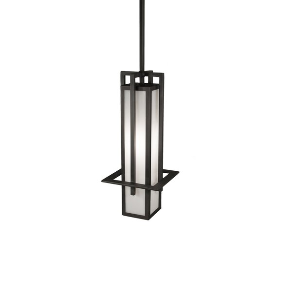 Luther 1-Light Lantern Pendant by Millwood Pines