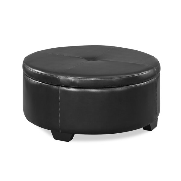 Torrens Tufted Cocktail Ottoman by Alcott Hill