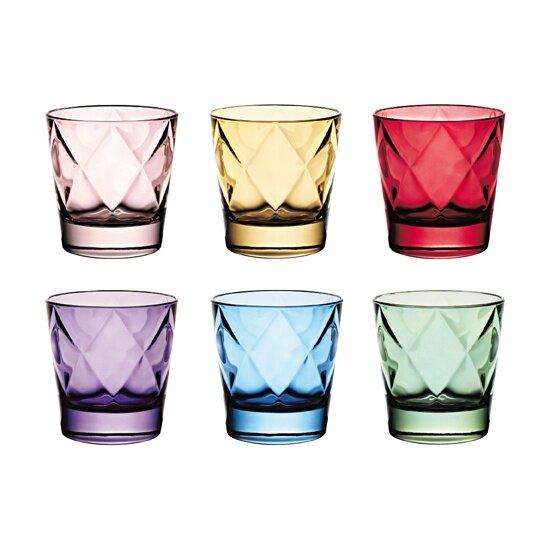 Euforia 11 oz. Glass Cocktail Glasses (Set of 6) by EGO