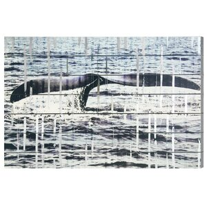 The Whale Photographic Print on Wood by Trent Austin Design