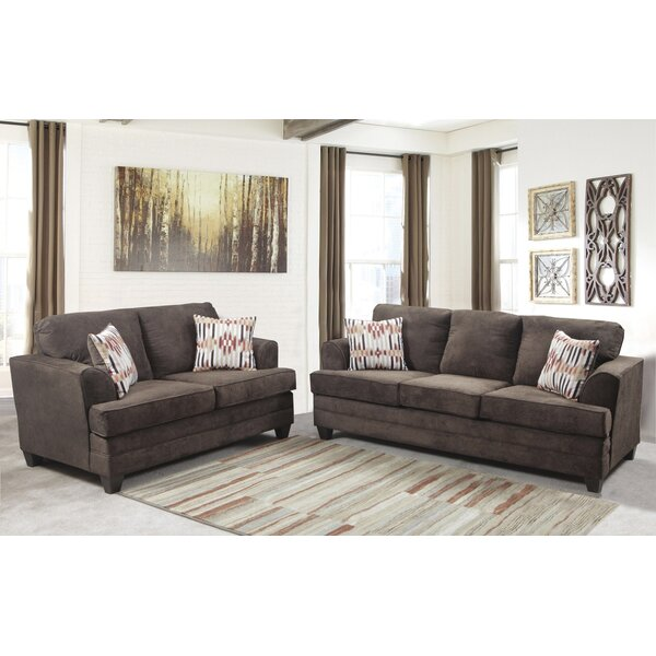 Napoleon 2 Piece Living Room Set by Winston Porter