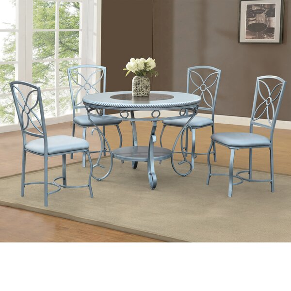 Papineau Metal Dining Table by House of Hampton