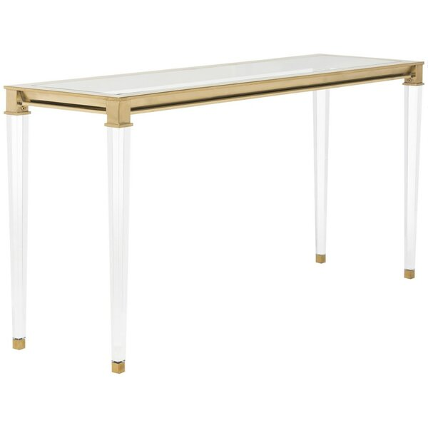 Raya Console Table by Willa Arlo Interiors Willa Arlo Interiors