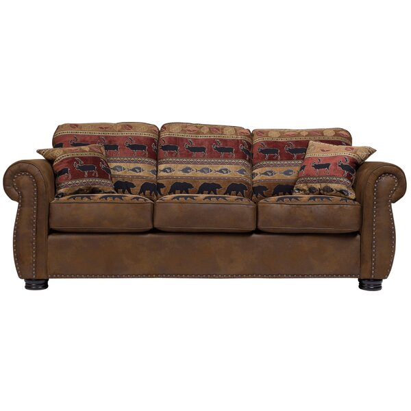 Our Offers Lecuyer Sofa by Millwood Pines by Millwood Pines
