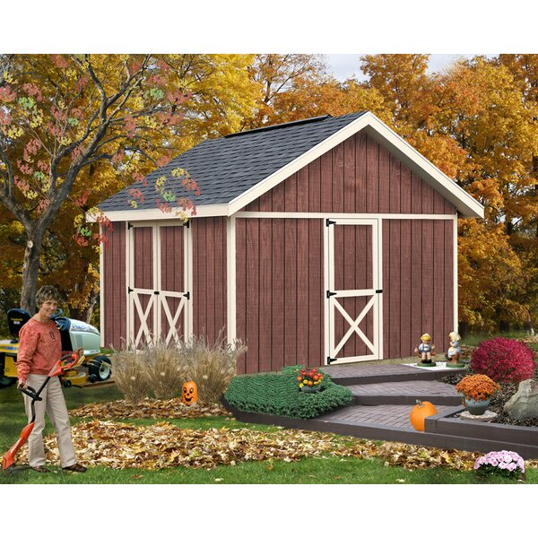 Fairview 12 ft. W x 12 ft. D Solid Wood Storage Shed by Best Barns