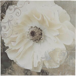 'Blooming Softly I' Painting Print on Wrapped Canvas by Ophelia & Co.
