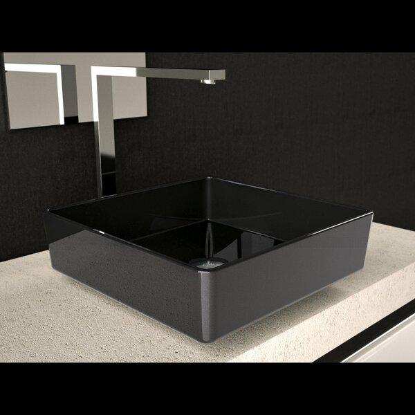 Four Square Vessel Bathroom Sink by Maestro Bath