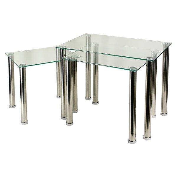 Welker 3 Piece Coffee Table Set By Orren Ellis