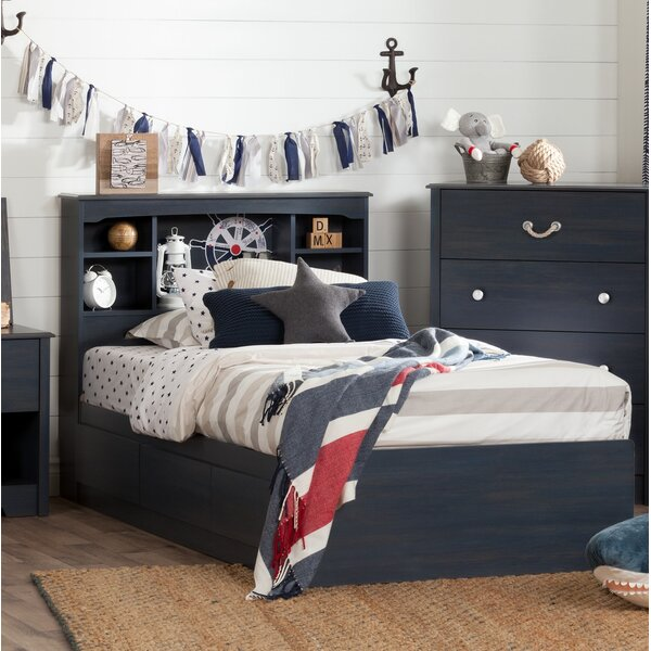 Aviron Twin Mates & Captains Bed With Drawers By South Shore by South Shore Purchase