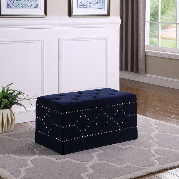Alviso Upholstered Storage Bench By Mercer41