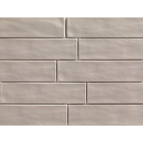 Organic Brick 3 x 12 Porcelain Field Tile in Sand by Travis Tile Sales