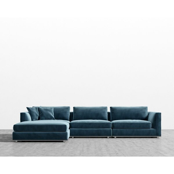 Clemons Modular Sectional with Ottoman by Brayden Studio