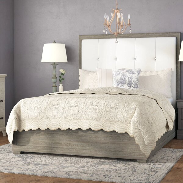 Perreault Upholstered Standard Bed by Laurel Foundry Modern Farmhouse