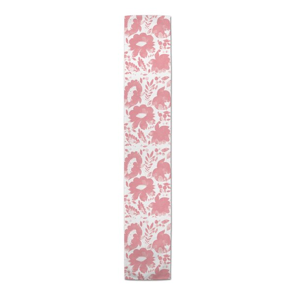 Flanary Floral Table Runner by Bungalow Rose