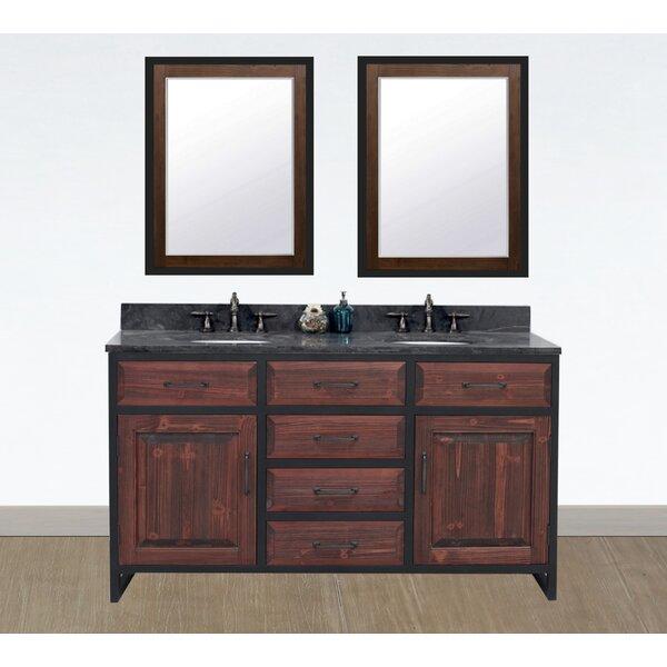 Welliver 61 Double Bathroom Vanity Set
