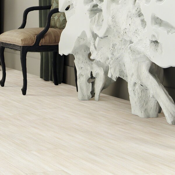 Retreat 12 6 x 36 x 2mm Luxury Vinyl Plank in Sand Dollar by Shaw Floors