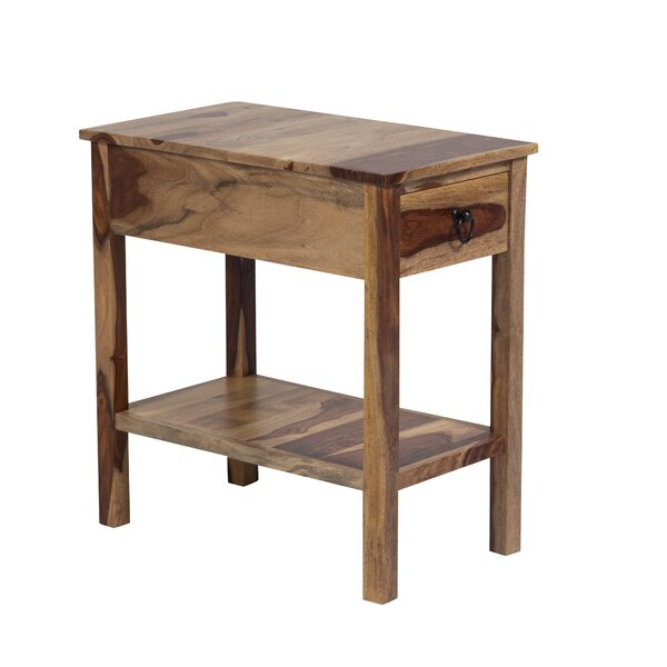 Traci Chairside End Table By Loon Peak