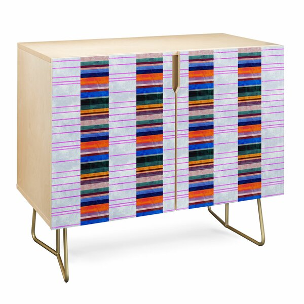 Schatzi Stripe Accent Cabinet by East Urban Home