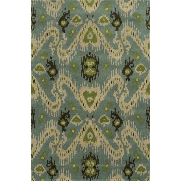 Ravenna Hand-Tufted Blue Area Rug by Meridian Rugmakers