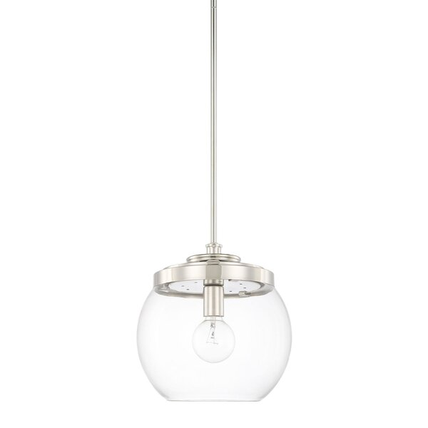 Maria 1-Light Pendant by Langley Street