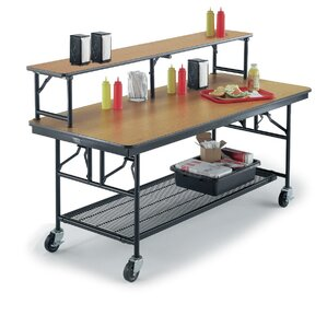Mobile Buffet Bar Cart by Midwest