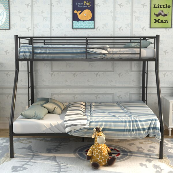 Isbell Metal Twin over Full Bunk Bed by Harriet Bee