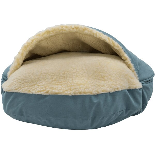 Orthopedic Luxury Cozy Cave Hooded Dog Bed by Snoozer Pet Products