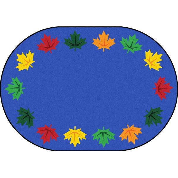 Altair Blue Area Rug by Zoomie Kids