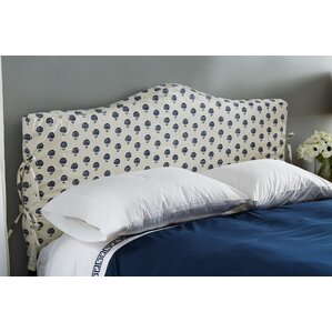 Linen Upholstered Headboard by Skyline Furniture