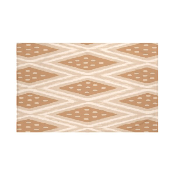 Sabrina Geometric Print Fleece Throw by Bungalow Rose
