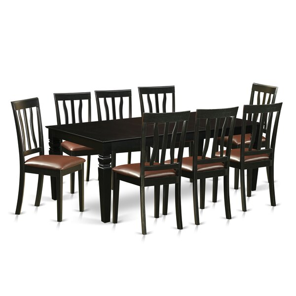 Camille 9 Piece Dining Set by Darby Home Co