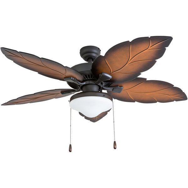 52 Moorton 5 Blade Ceiling Fan by Bay Isle Home