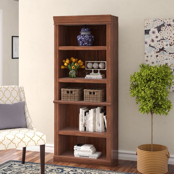 Thaler Standard Bookcase By Charlton Home