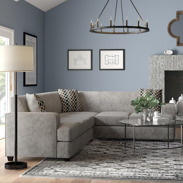 Jake Sleeper Sectional by Alcott Hill