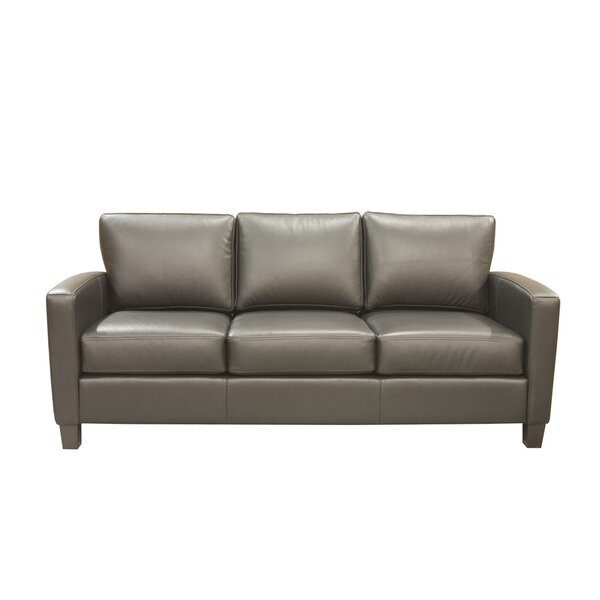 Adeen Leather Sofa by Coja