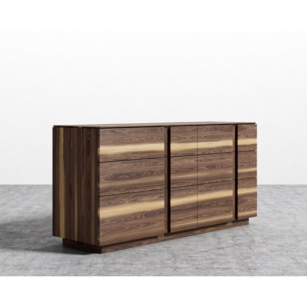 Combs 6 Drawer Standard Dresser/Chest by Brayden Studio