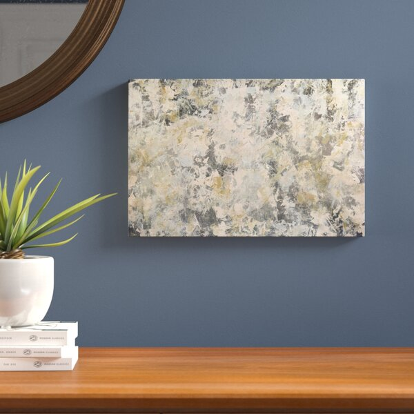 Vintage Mirror Painting Print on Wrapped Canvas by Langley Street